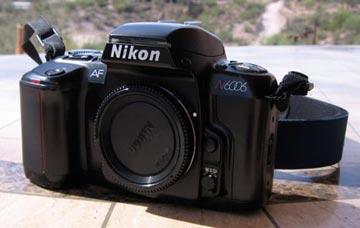 Nikon 6006 Camera