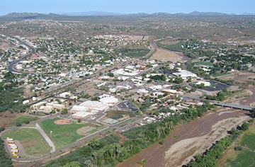 Wickenburg from the Air