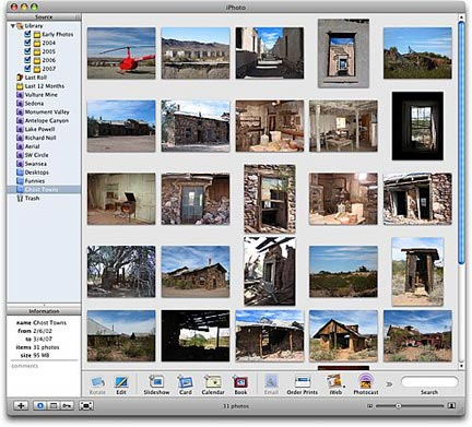 Rearrange the photos