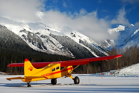 Airplane at Girdwood