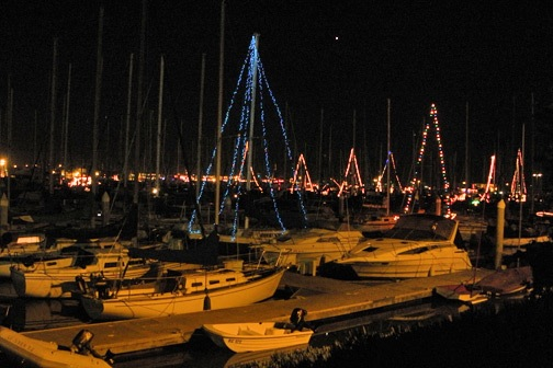 Christmas at Ventura Harbor