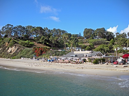 The Paradise Cove Beach Cafe