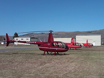 Heli Base in Chelan