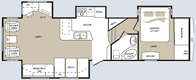 Mountaineer 324RLQ Floor plan