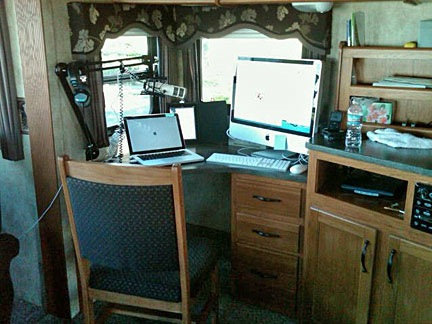 My RV Office