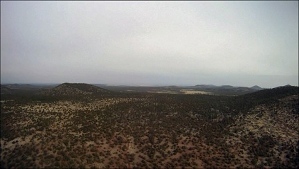 White Haze on Coconino Plateau