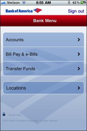 BofA App