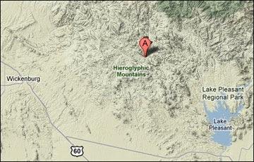 Location of Dredge
