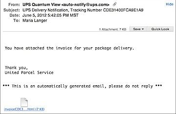 UPS Scam