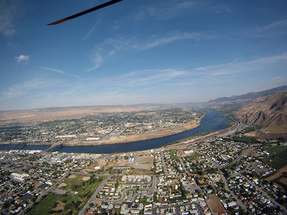 East Wenatchee Aerial