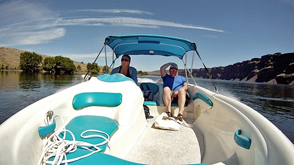 Boating with Jim