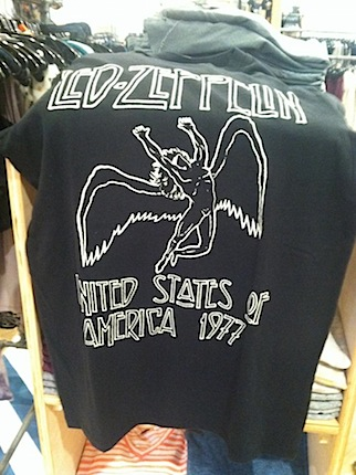 Led Zep shirt