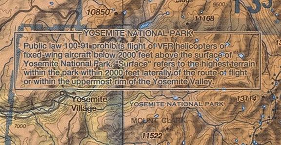 Yosemite on Chart
