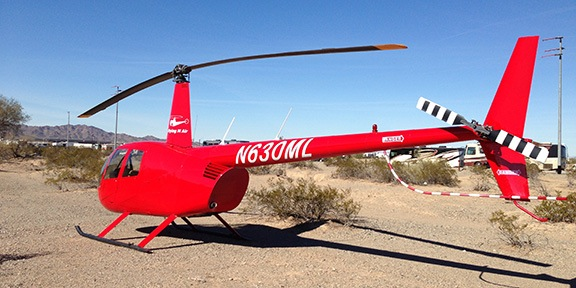 Quartzsite Helicopter Parking