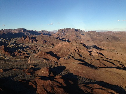 Mountains South of Havasu