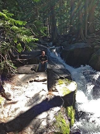 Brian at the Creek