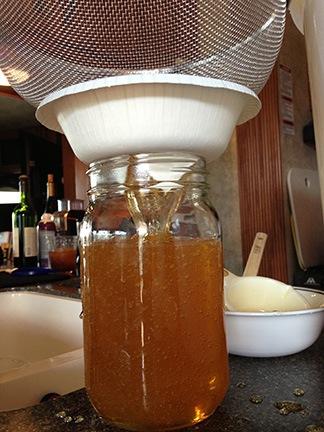 Filtering Honey