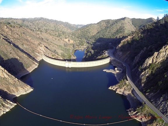 Dam at Lake Berryessa