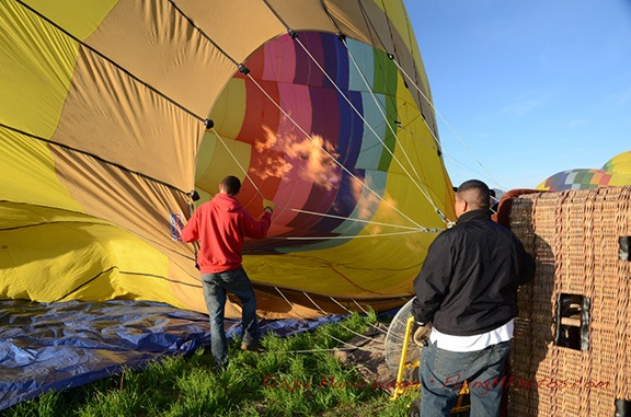 Adding Heat to Balloon