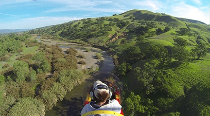 Cache Creek Flyby