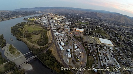 Wenatchee at Sunset