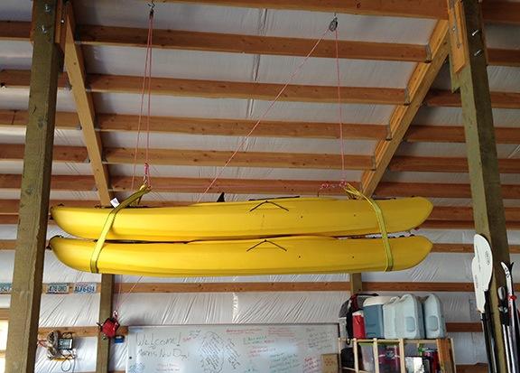 Hung Kayaks