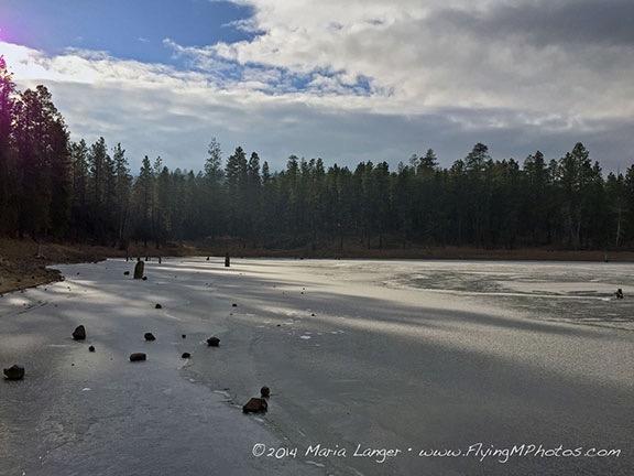 Clear Lake, Frozen
