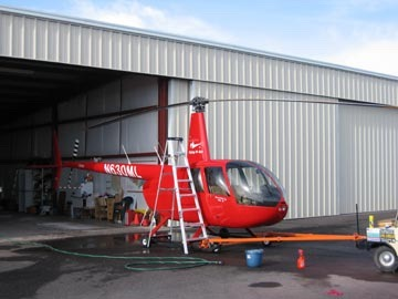 Washing my Helicopter