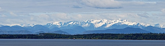 BC Mountains Pano
