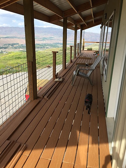 Deck almost done