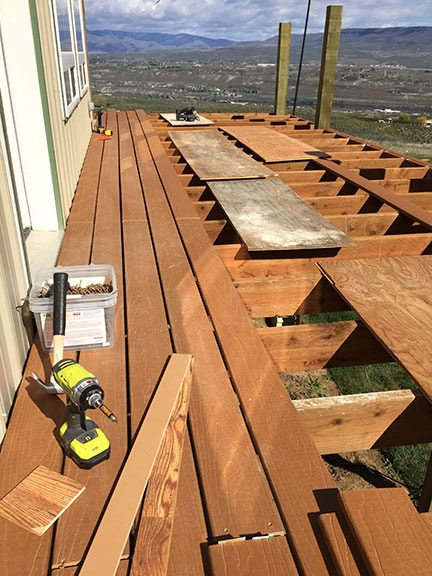 Laying Deck