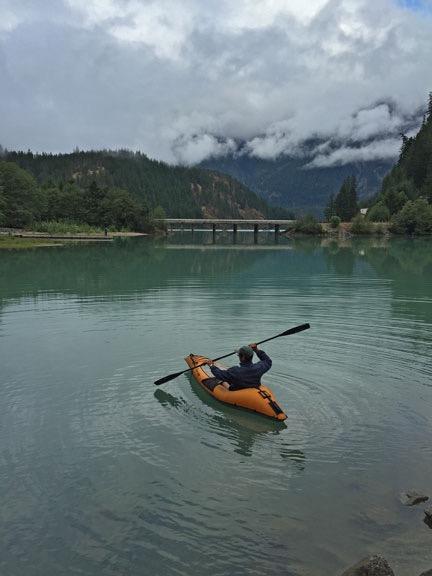 Kirk in a Kayak