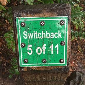 Switchback Sign