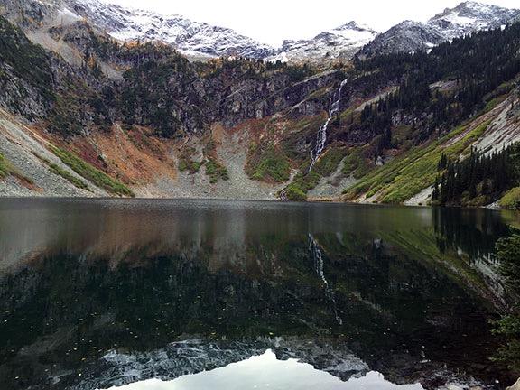 Rainy Lake Reflection