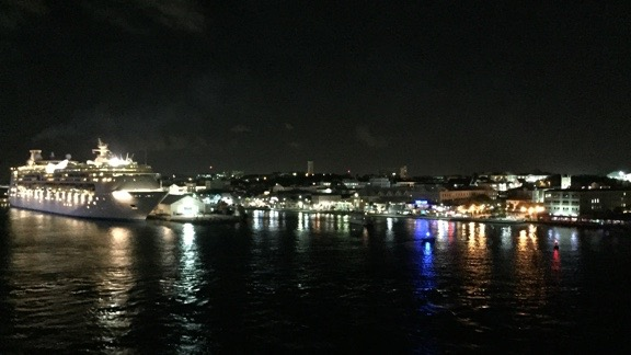 Nassau at Night