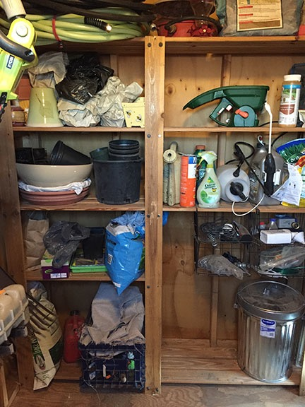 Shed Shelves