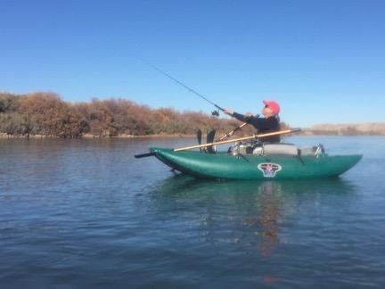 Janet Fishing Again