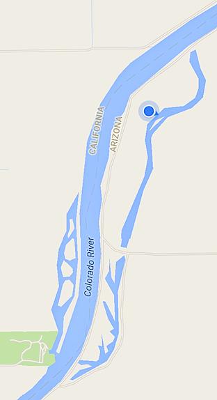 Backwaters Map