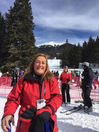Maria Ready to Ski