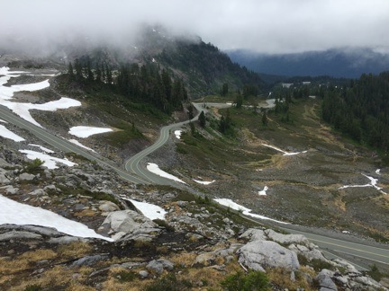Road to Artist Point