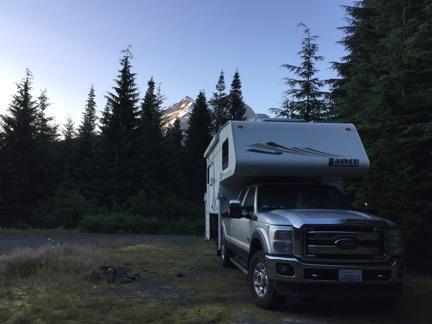 Campsite Near Mt. Shuksan