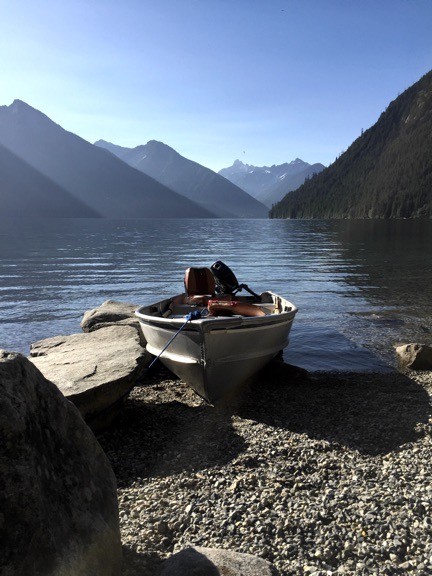 Early Morning at Chilliwack Lake