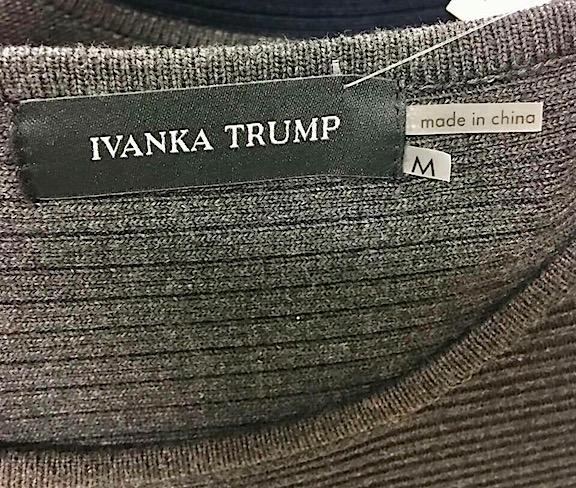 Ivanka Trump Made in China Label