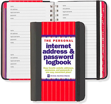 Password Notebooks are STUPID