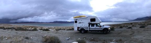 At Walker Lake