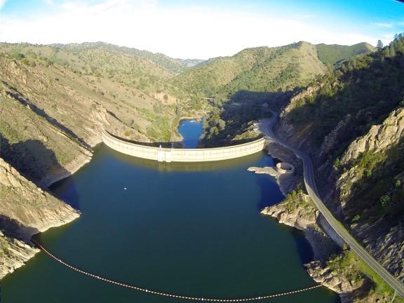 Monticello Dam w/Glory Hole