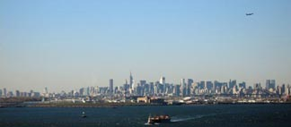 New York City from the Whitestone Bridge