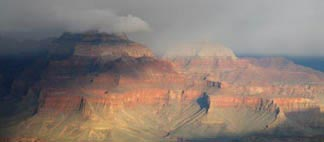 The Grand Canyon with Clouds