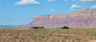 Navajo Homestead Near the Vermilion Cliffs