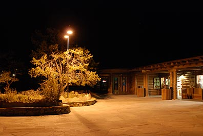 Bright Angel Lodge at Night
